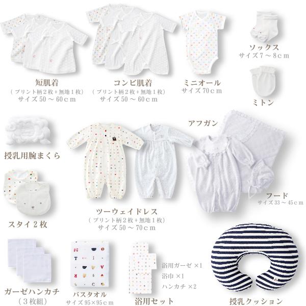 5万円パック(計21点) / お得な出産準備セット